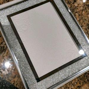 Swarovski crystal picture frame